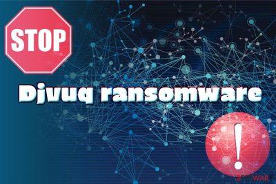 Djvuq ransomware