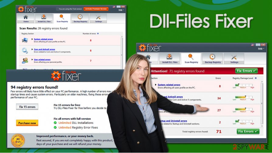Dll-Files Fixer PUP