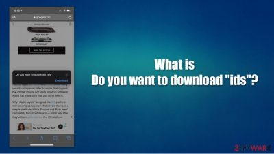 """Do you want to download """"ids"""""""