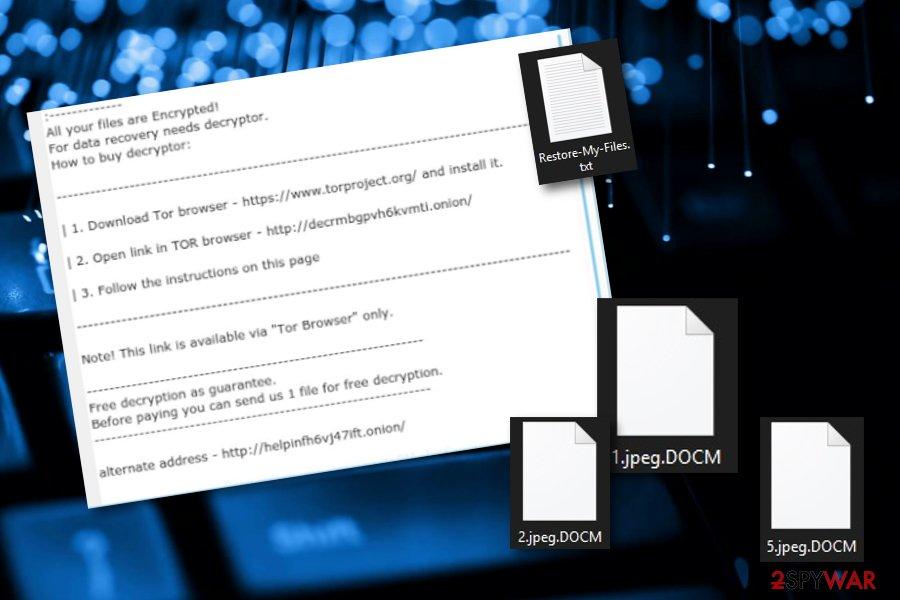 Docm ransomware