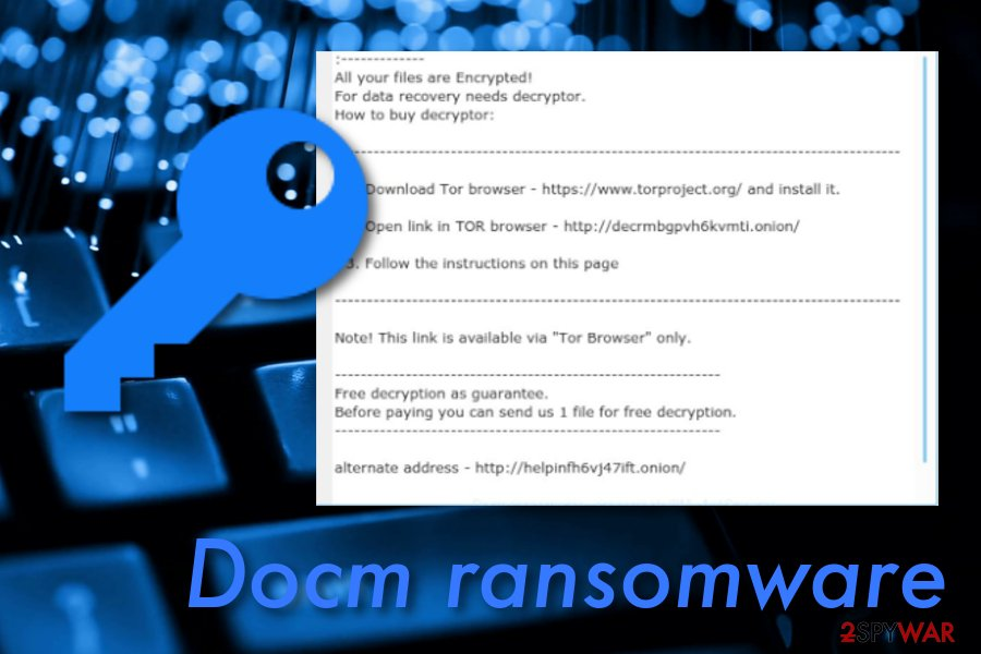 .DOCM files virus