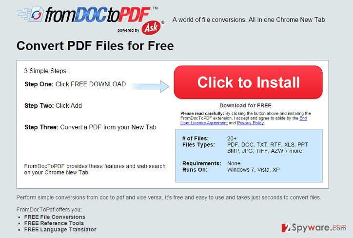 DocToPDFConverter adware