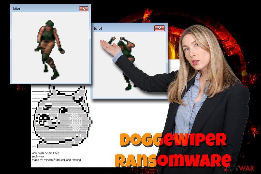 DoggeWiper ransomware virus