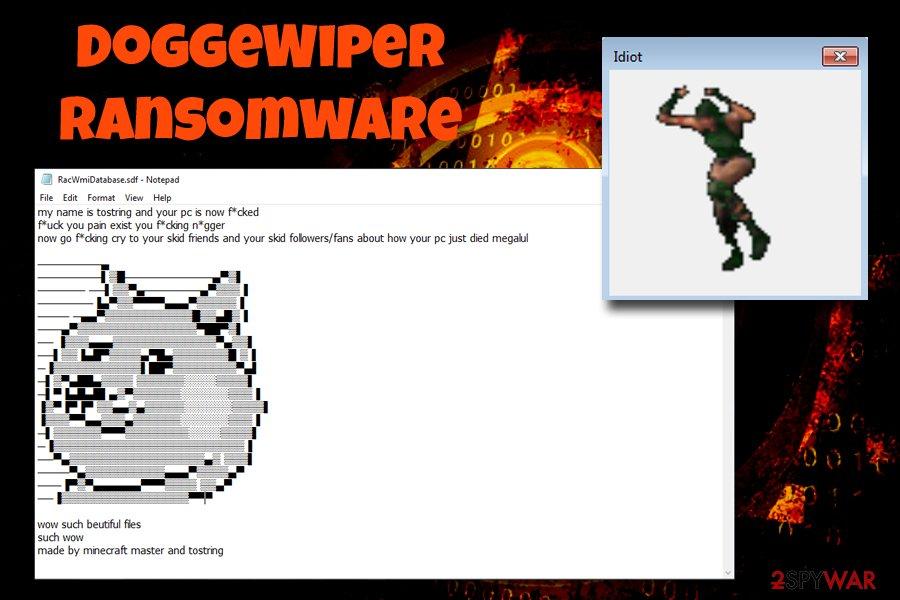 DoggeWiper ransomware