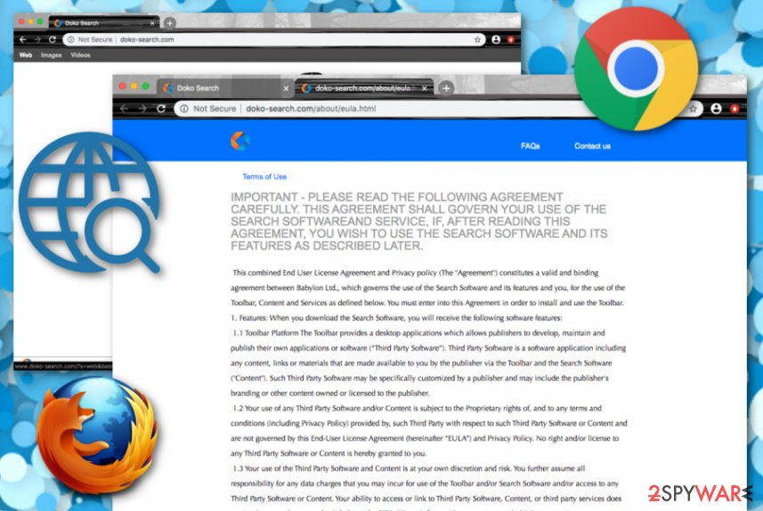 Doko-search.com browser hijacker