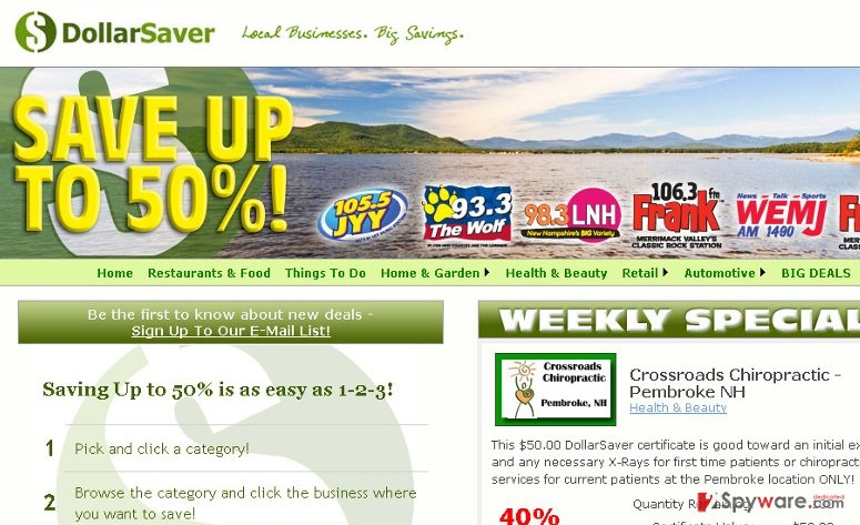 Ads by Dollar Saver