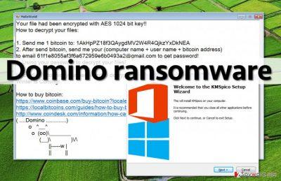 Rogue KMSpico installer spreads Domino ransomware