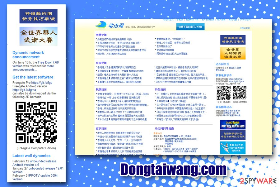 Dongtaiwang.com Freegate VPN
