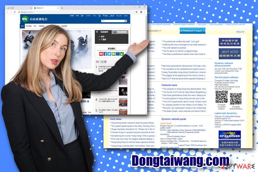 Dongtaiwang.com hijacker