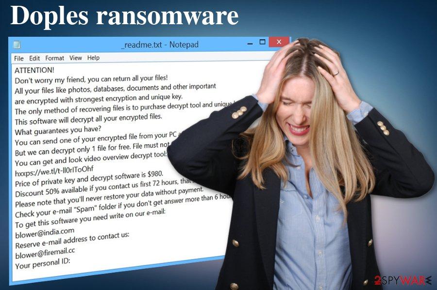 Doples ransomware virus