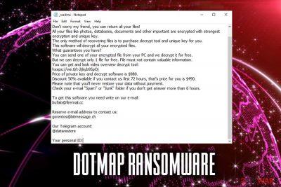 Dotmap ransomware
