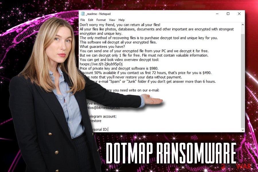 Dotmap ransomware virus