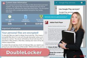 DoubleLocker ransomware virus