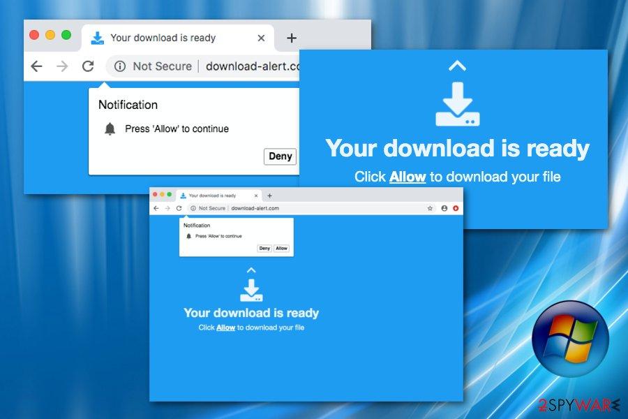 Download-alert.com adware