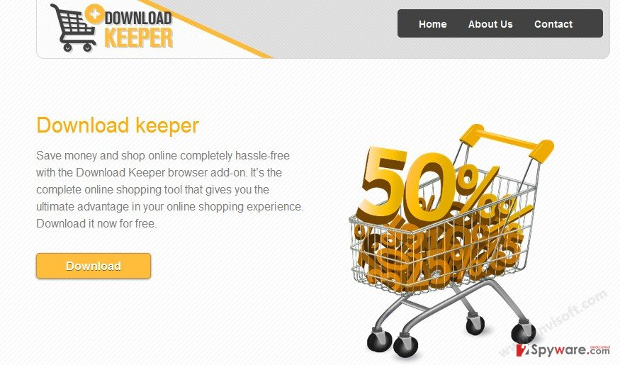 Ads by Download Keeper snapshot