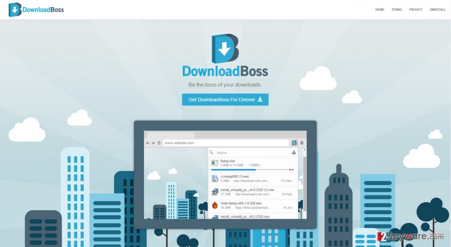 DownloadBoss virus