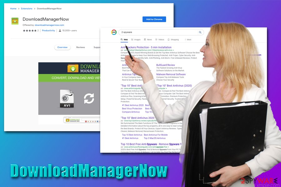 DownloadManagerNow hijack