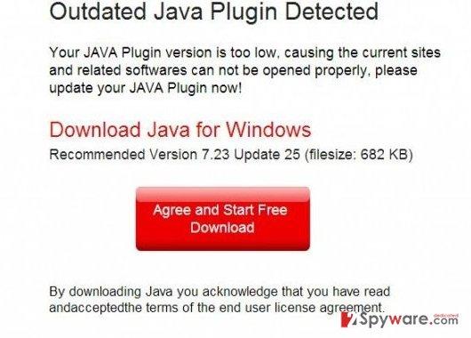 Downloadrequired-updates.com virus snapshot
