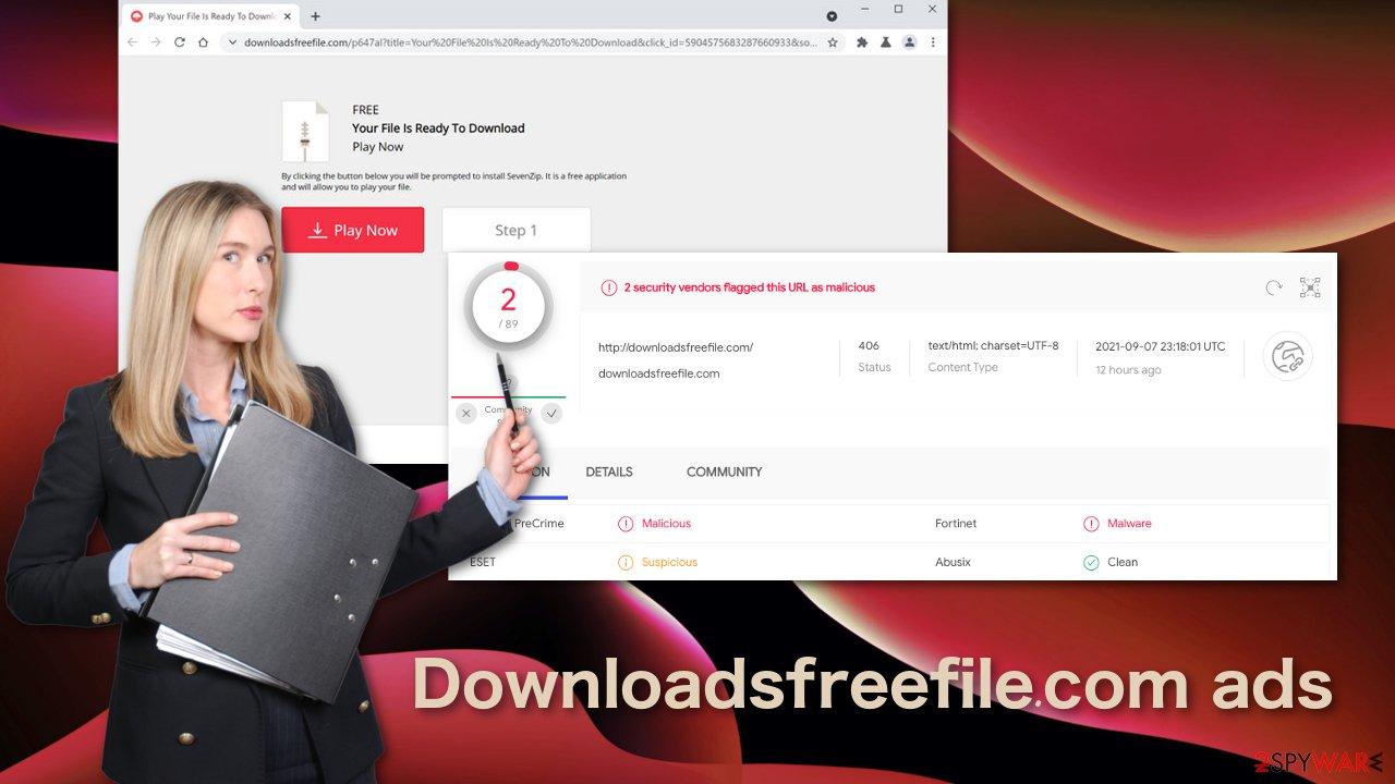 Downloadsfreefile.com ads