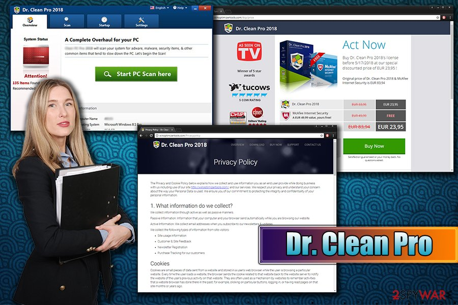 Dr. Clean Pro 2018 PUP uninstallation