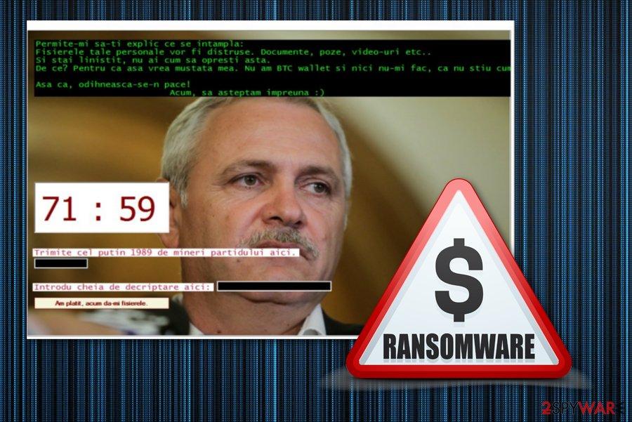 Dragnea ransomware virus