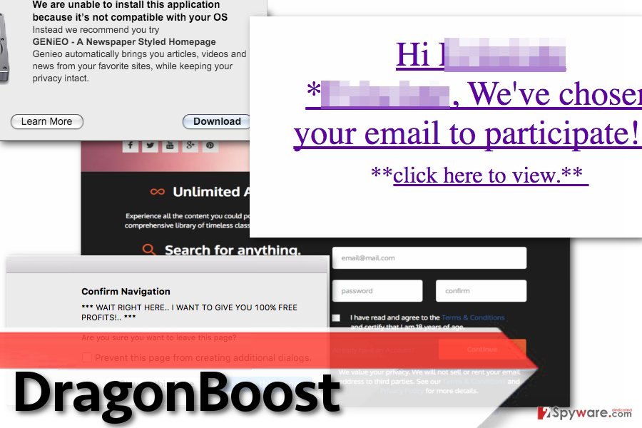 DragonBoost adware