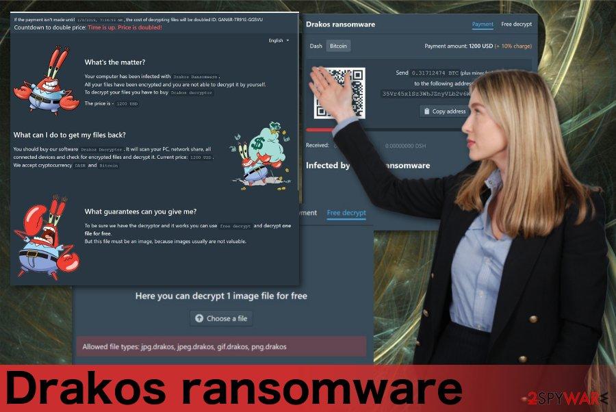 Drakos ransomware virus