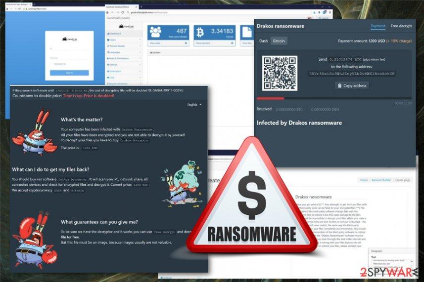 Drakos ransomware