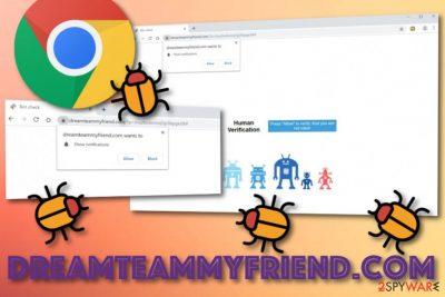 Dreamteammyfriend.com virus
