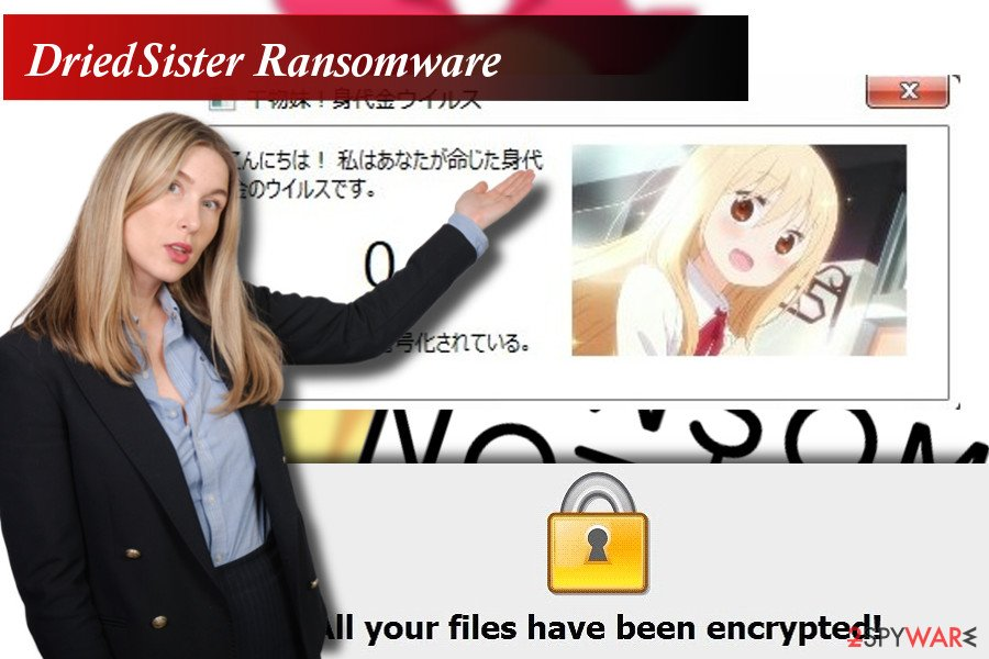 DriedSister ransomware virus