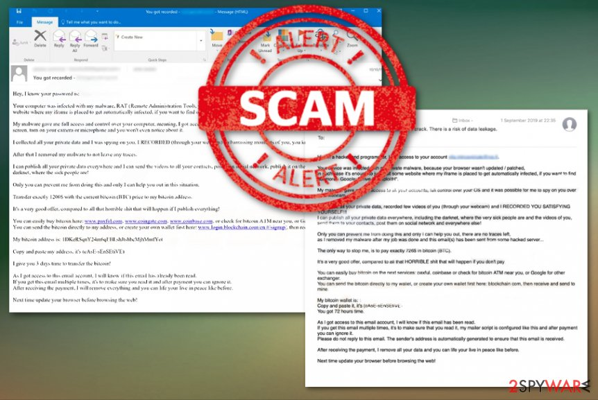 Drive by Exploit email scam campaign