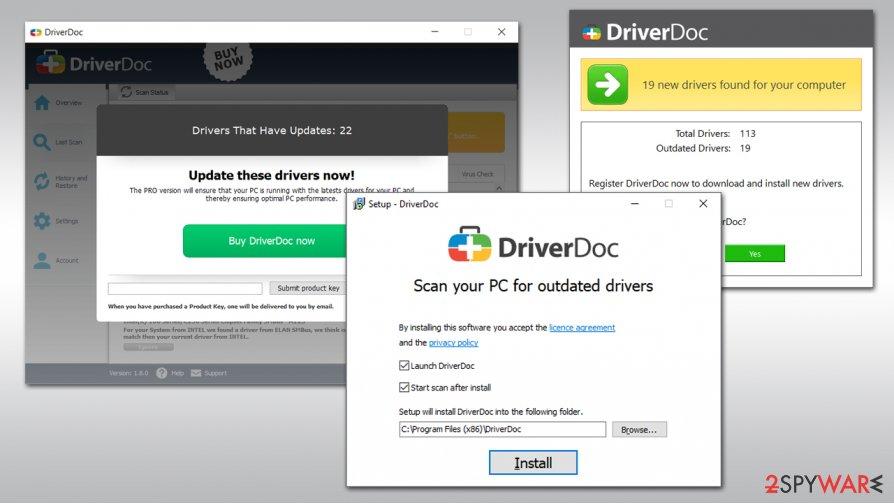 DriverDoc virus