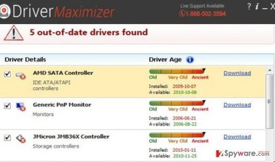 The image showing Driver Maxmizer