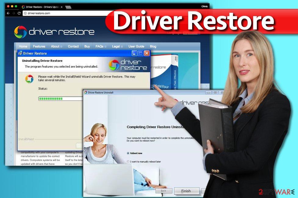 Driver Restore uninstall