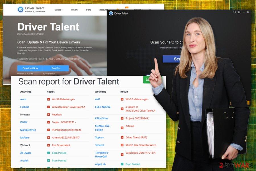 Driver Talent virus