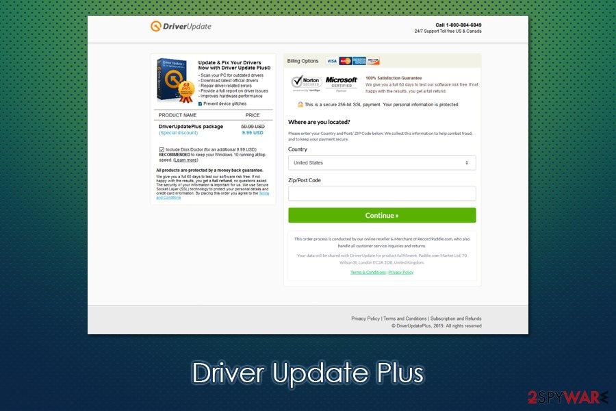 Driver Update Plus PUP