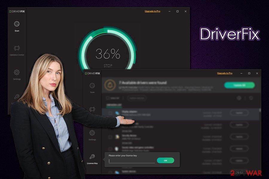 DriverFix app