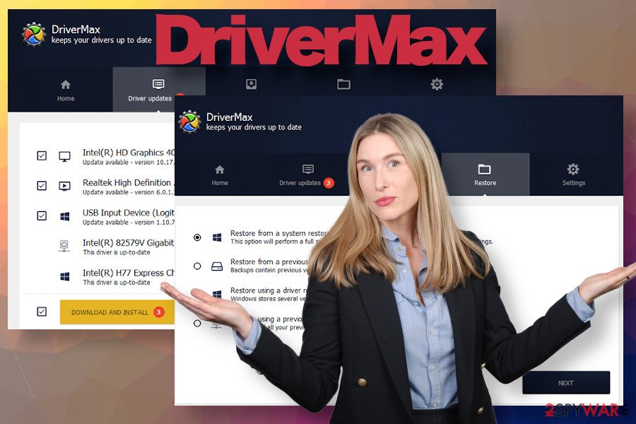 DriverMax updater