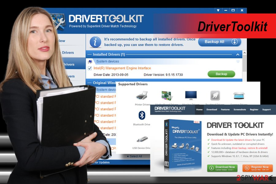 DriverToolkit virus scanner