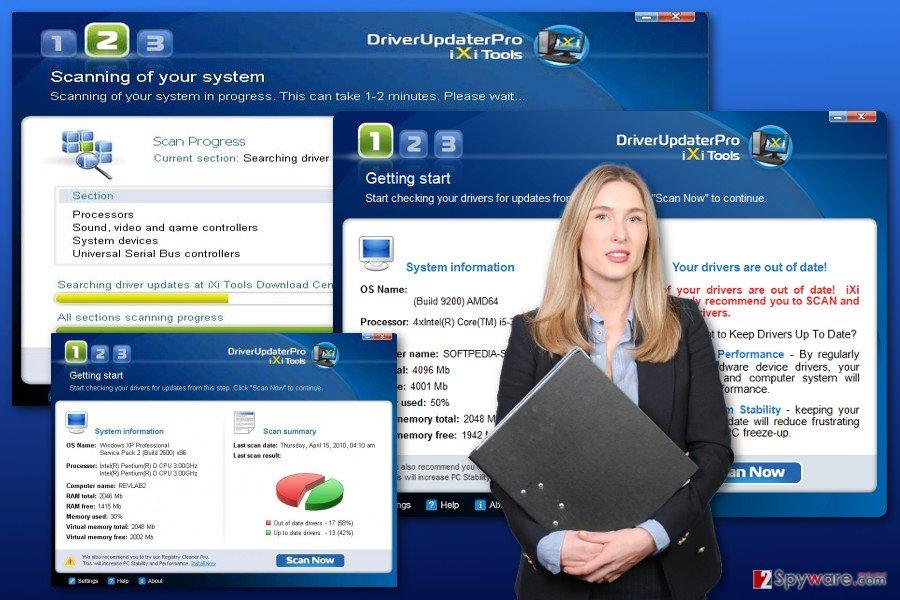 DriverUpdaterPro virus