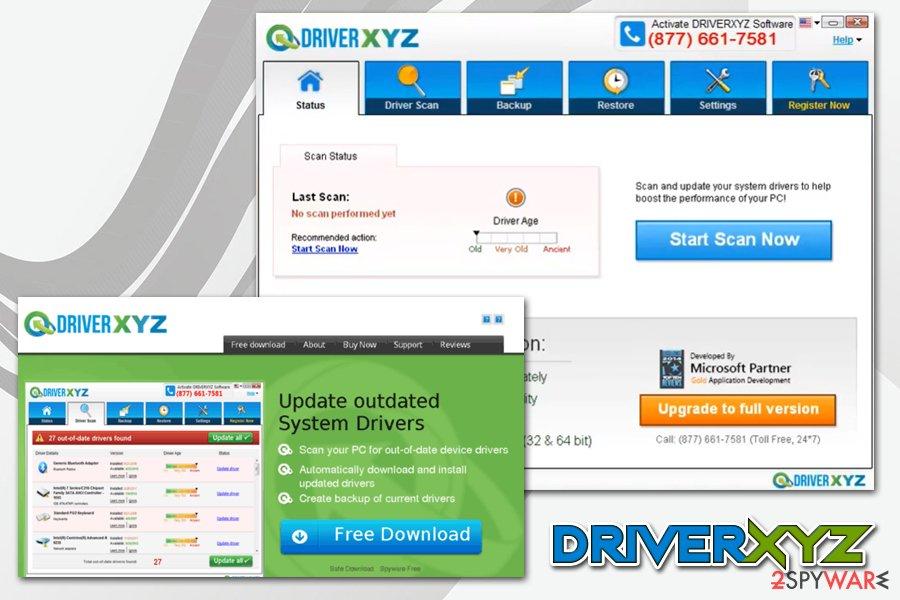 DriverXYZ virus