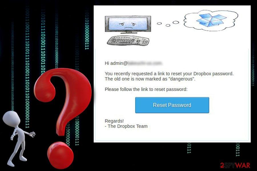 Dropbox virus