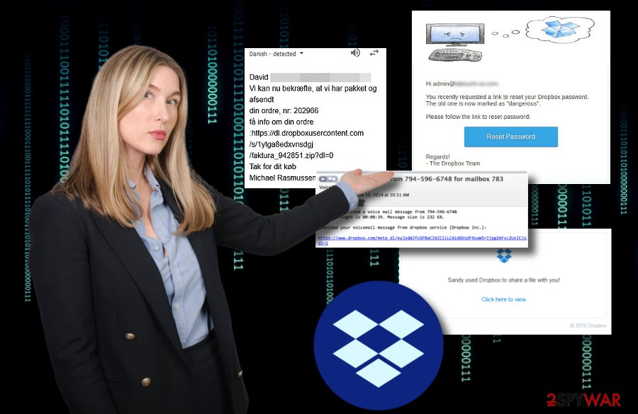 Dropbox malware