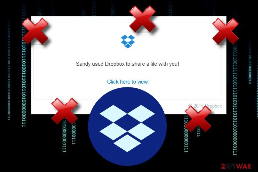 Dropbox malware alert