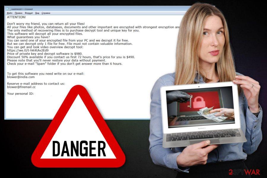 Drume ransomware virus