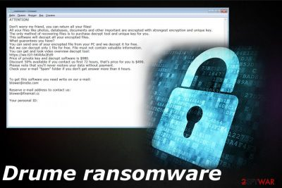 Drume ransomware