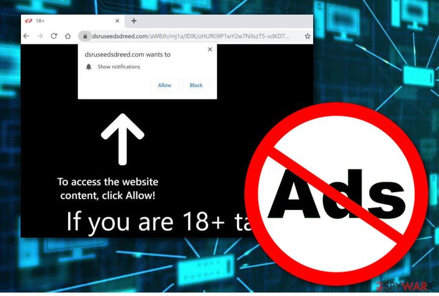 Dsruseedsdreed.com adware