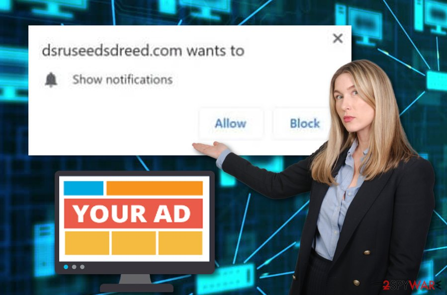 Dsruseedsdreed.com ad-supported app