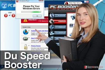 The image of fake Du Speed Booster