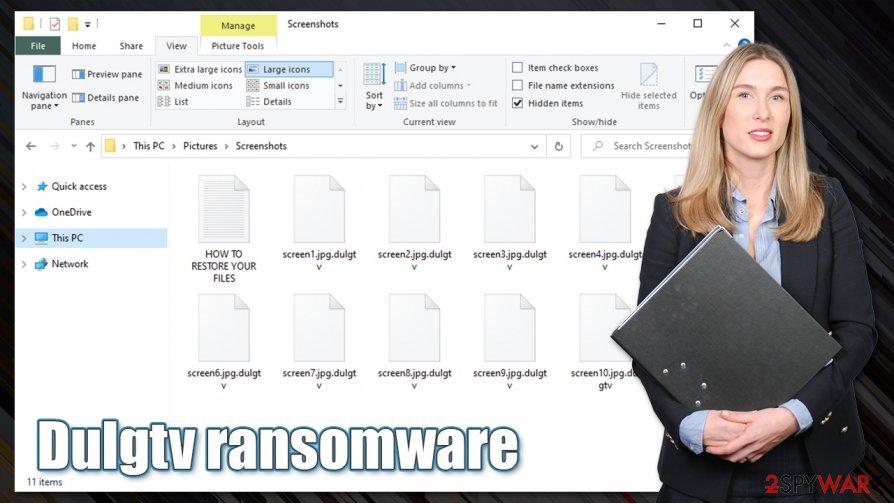 Dulgtv ransomware virus